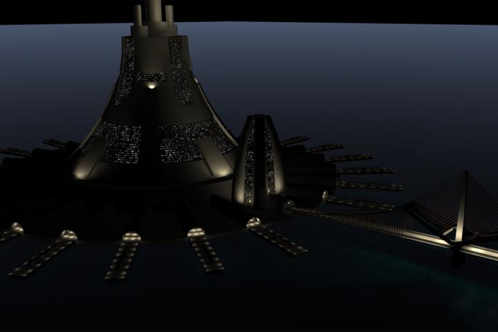 Orbital Elevator Base Station