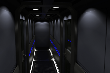 Motor Yacht Petrel Guest Hallway